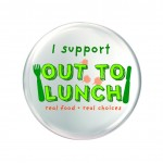 I Support Out to Lunch Badge