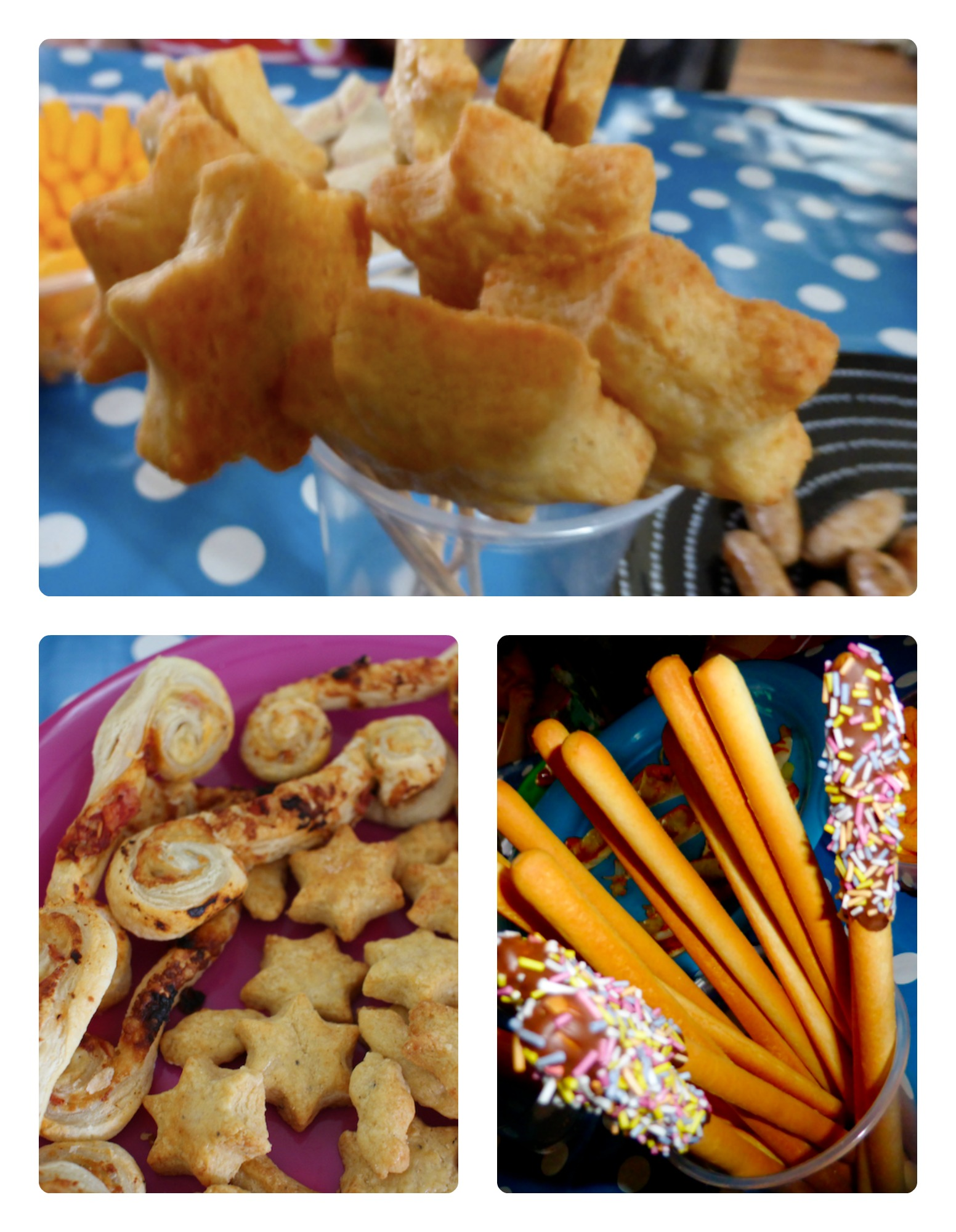 room on the broom party food wands