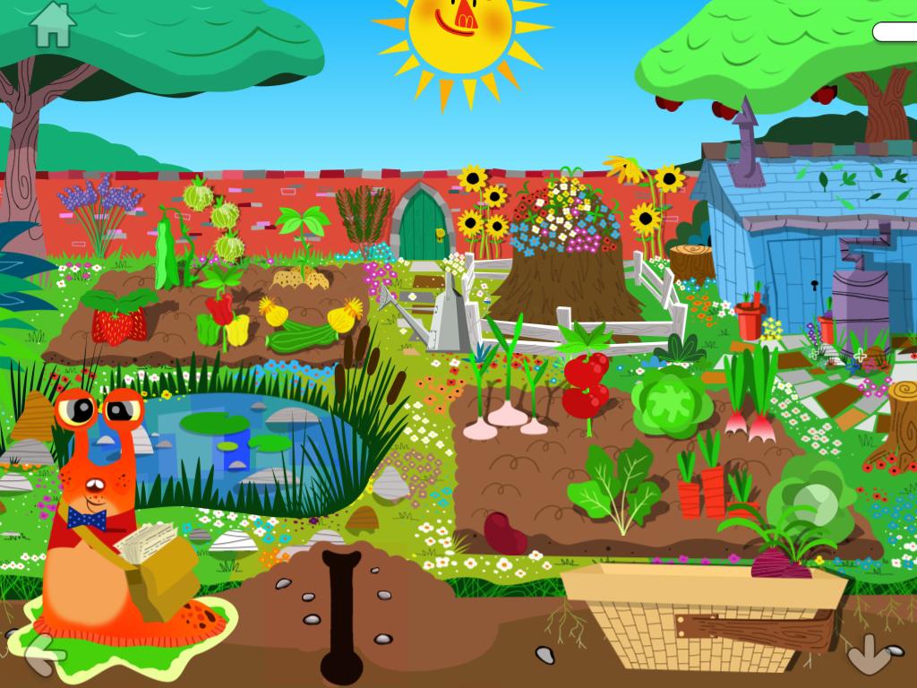 henri le worm app garden