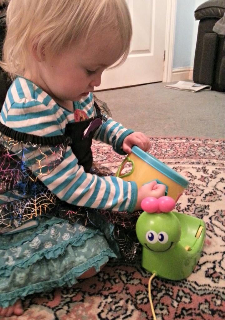 kiddicare buzzing brains 3 in 1 busy bug