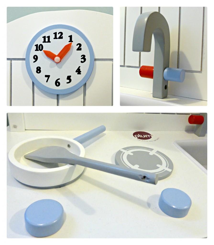 plum oxford kitchen clock tap hobs