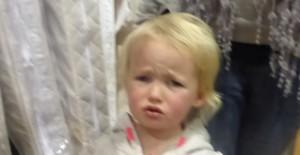 toddler tantrum sad face