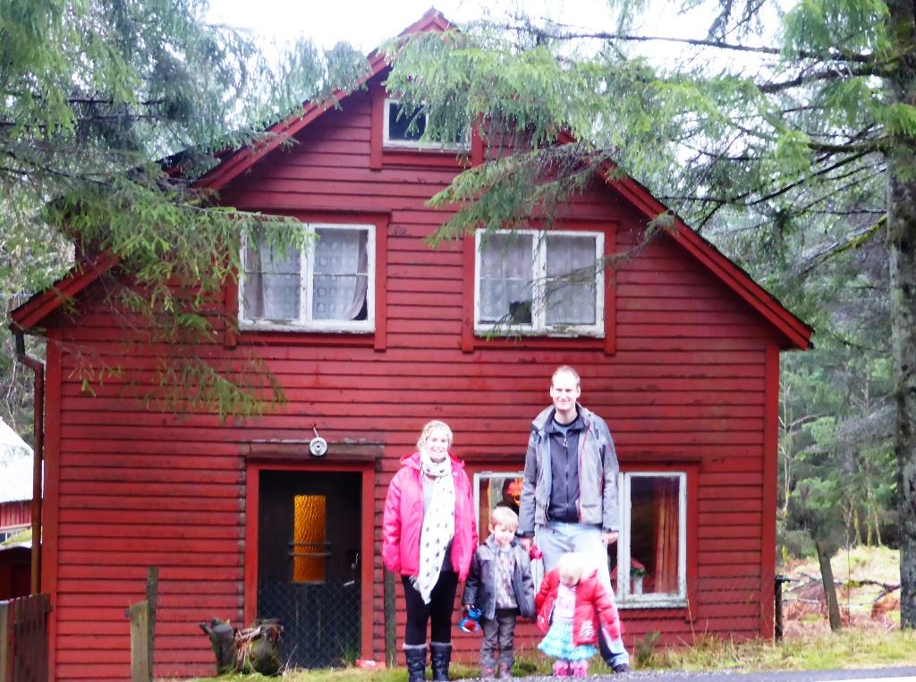 norwegian holiday house hytte