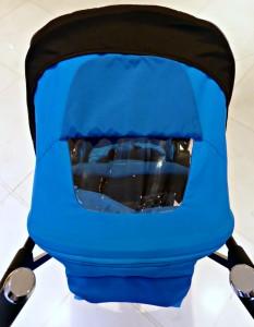 silver cross reflex pushchair parent view