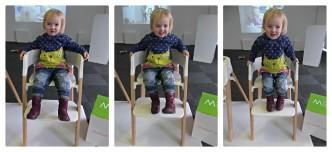 stokke steps happy toddler in highchair