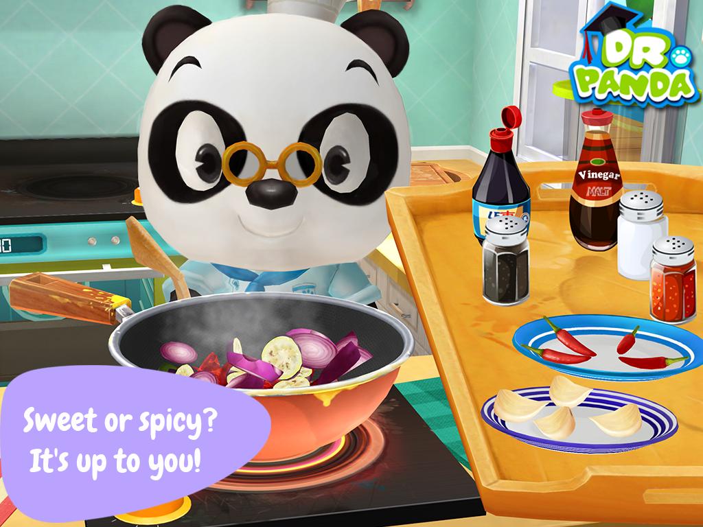 dr panda cooking app