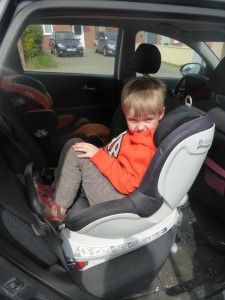 britax dualfix four year old review