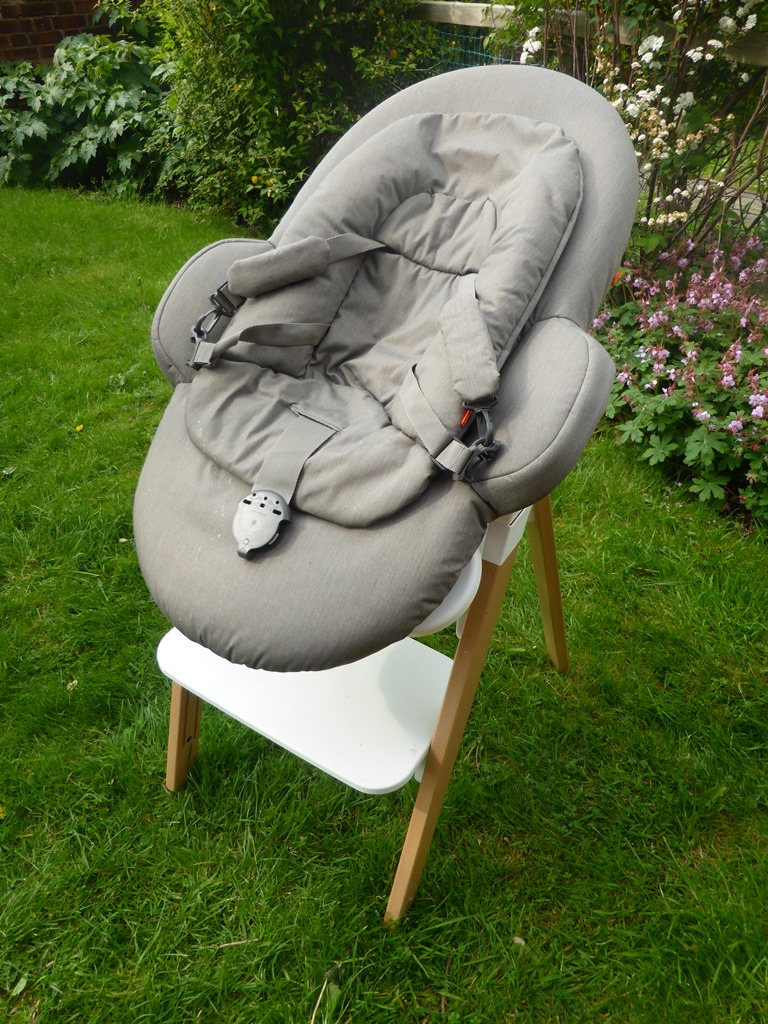 stokke chair with bouncer