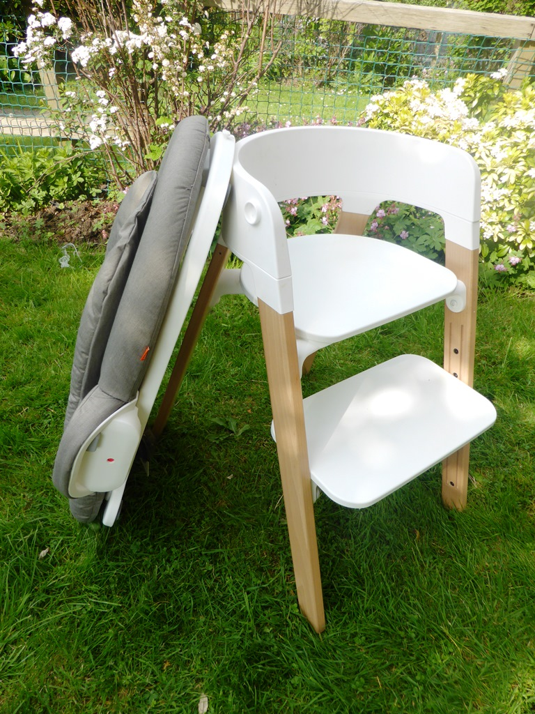 stokke steps chair and bouncer