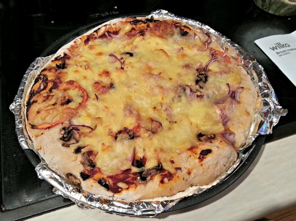 wilkinson breadmaker pizza