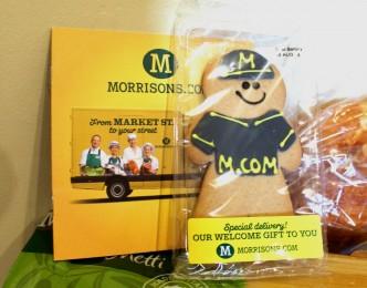 Morrisons online free gift