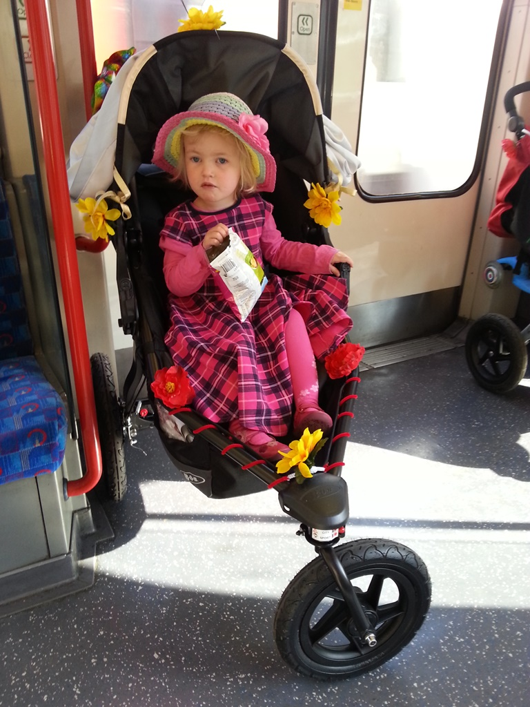 Britax BOB buggy push on tube