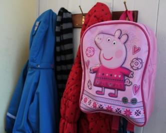 Peppa backpack 1