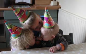 half birthday siblings