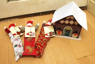 elf on the shelf elves three house