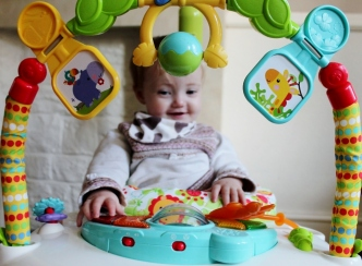 fisher price spacesaver rainforest jumperoo review