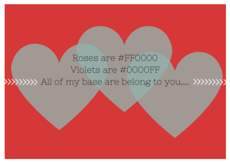geek love poem valentines