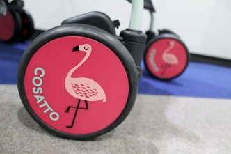 cosatto supa flamingo fling review