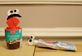 clever cleaning hacks baking soda toothpaste