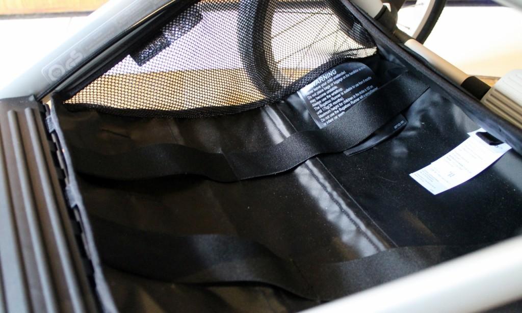 review bugaboo runner storage basket