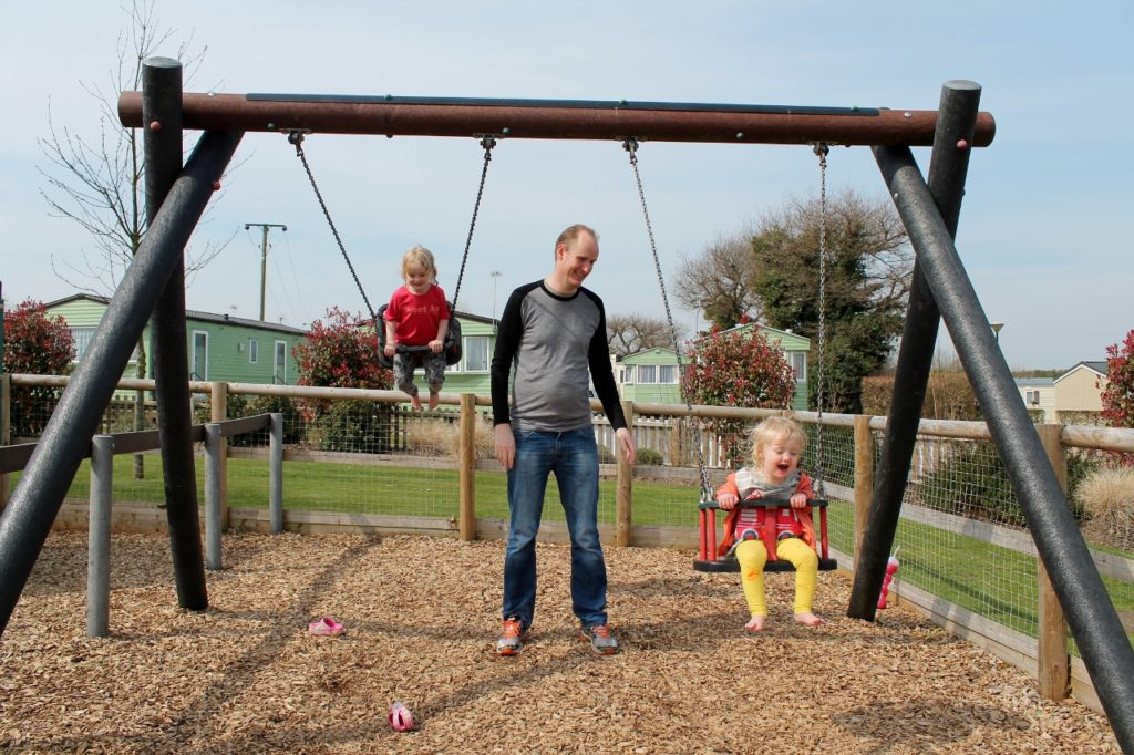 parkdean cherry tree toddler park