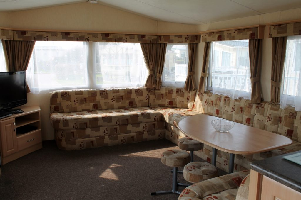 parkdean cherry tree caravan front room