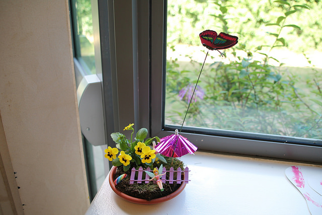 make your own fairy garden birthday party