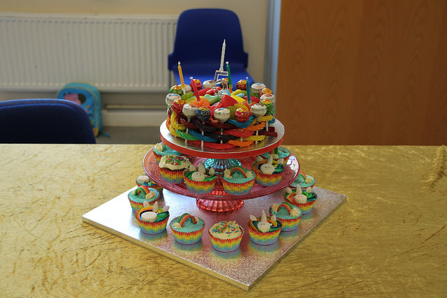 rainbow sweetie cake unicorn cupcakes