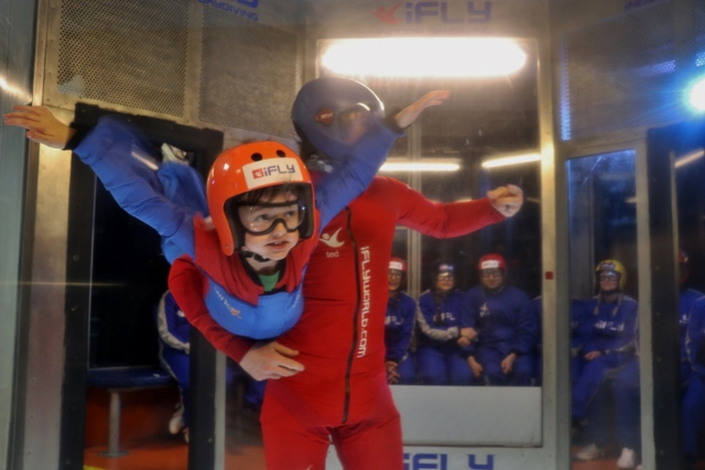 indoor skydiving at iFly Milton Keynes