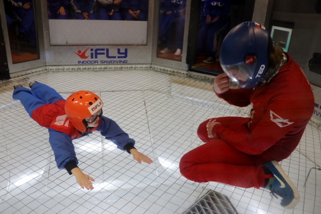 ready to go at indoor skydiving iFly Milton Keynes