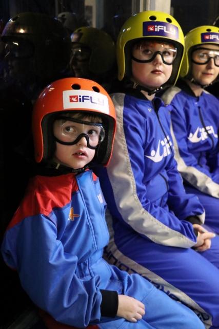 ready to try indoor skydiving