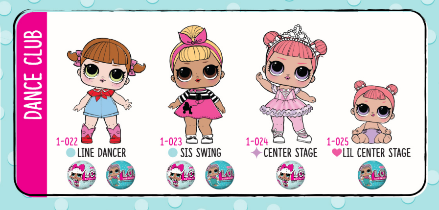 lol surprise dolls series 1 leaflet