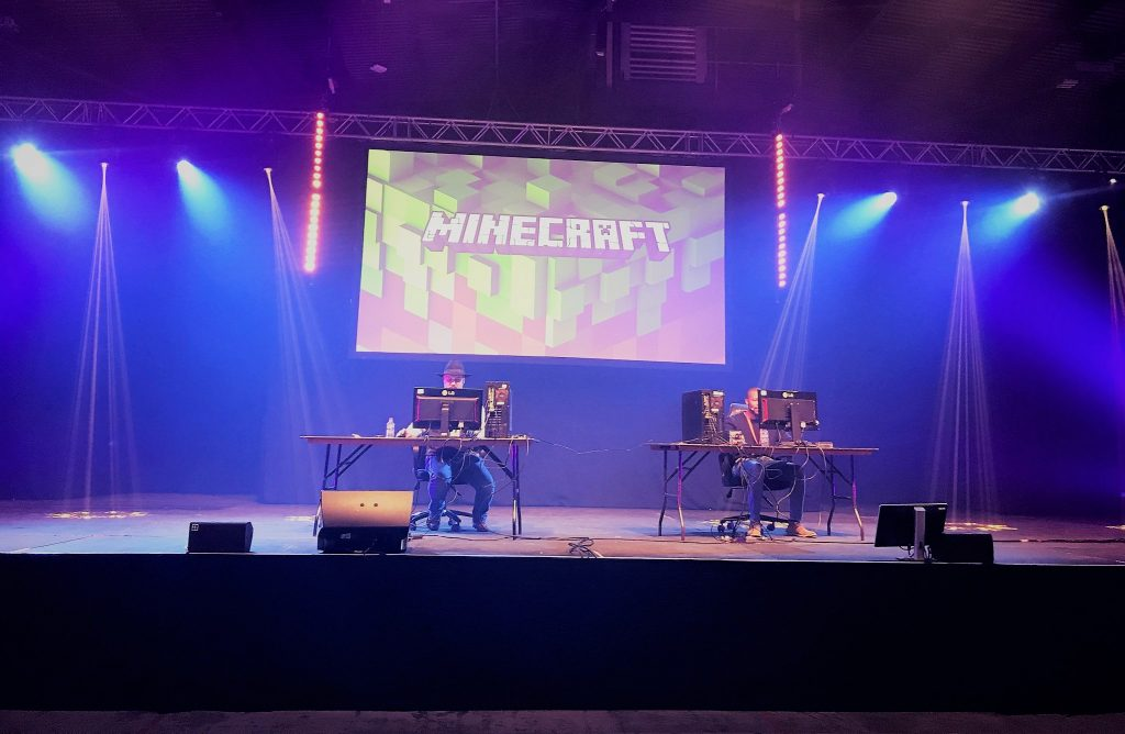 digital kids show minecraft