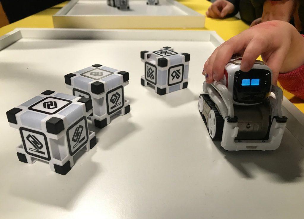digital kids show cozmo robot