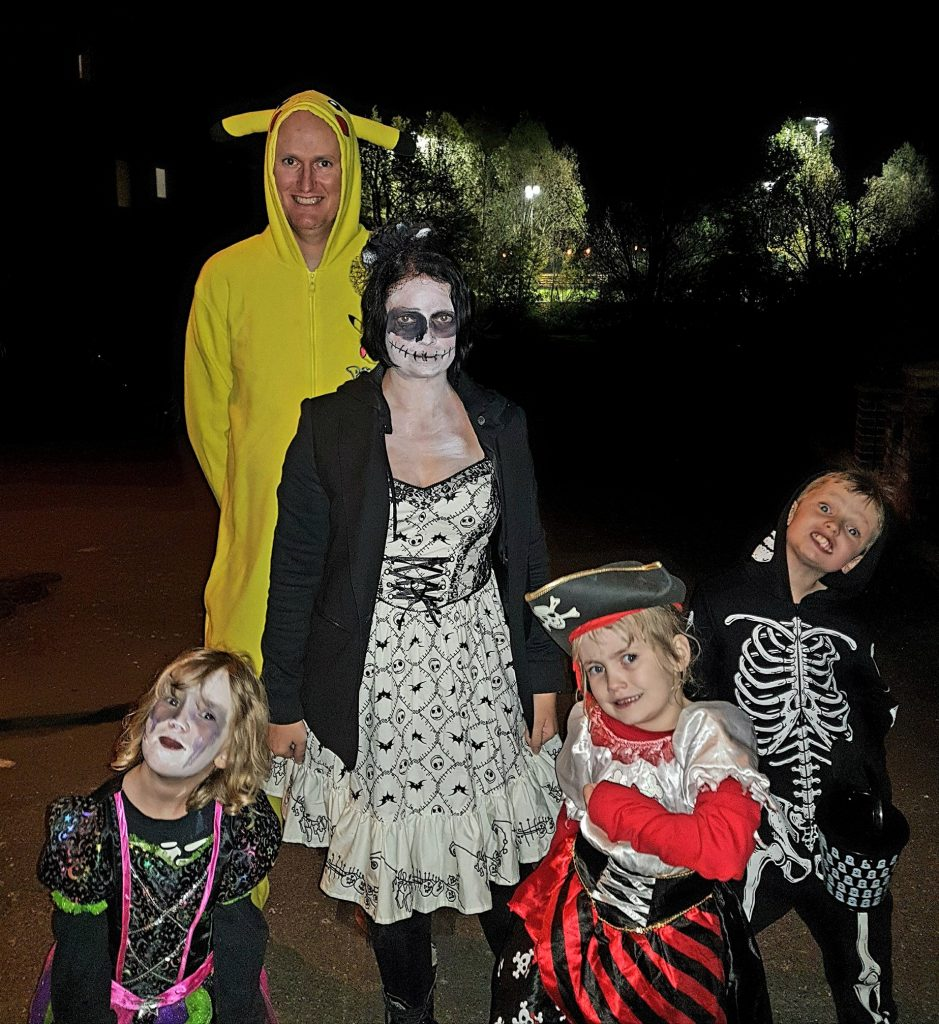 family trick or treat