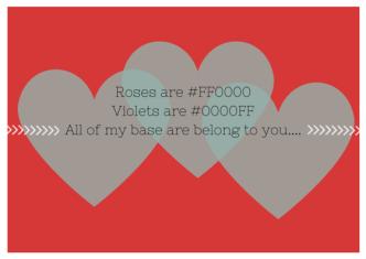 geek love poem valentines