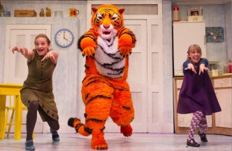 tiger who came to tea live on stage