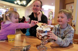 parkdean cherry tree giant ice cream sundae