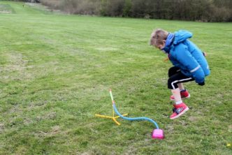 jumping on stomp rocket wicked uncle