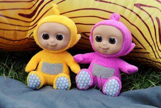 giggling tiddlytubbies tellytubby soft toys